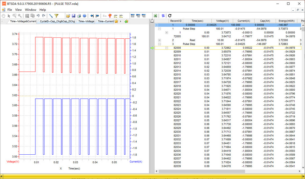 Neware-Testing-Curve-Pulse-Test-Curve-2-Neware-Battery-testing-system-cycler