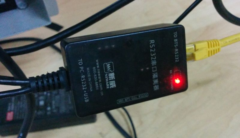 neware battery tester bts-rs232