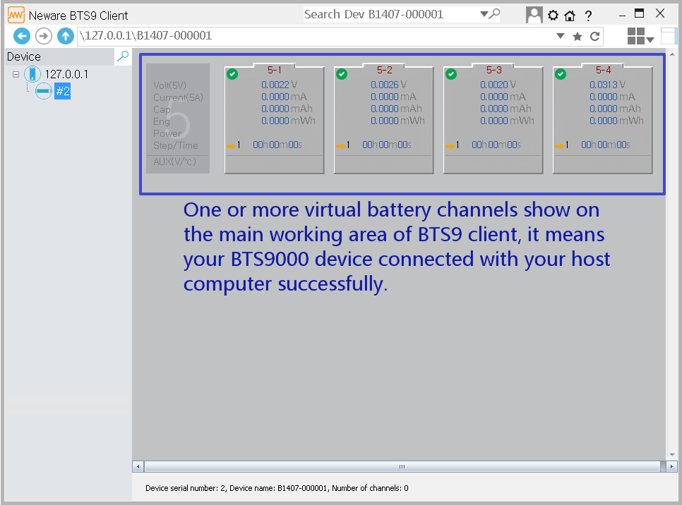 neware battery tester client