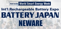 Battery Japan 2019-11th Int'l Rechargeable Battery Expo